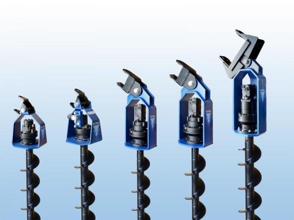 Hydraulische Bohrmaschinen serie MAXI T1000 - T2000 - T3000 - T4000 - T5000 - T8000 - T12000