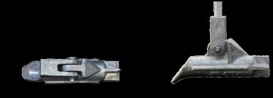 JLD 1.0 Klapp Anker mit Schäkel Gewinde M10