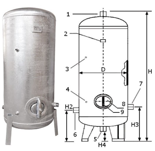 Galvanized Tanks